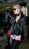 Paris Hilton arrives at LAX International Airport