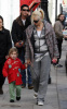 Gwen Stefani and Gavin Rossdale along with their son Kingston