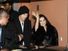 Demi Moore and Ashton Kutcher arrive at Borchardt restaurant on February 11th 2009 in Berlin Germany 2