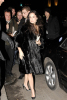 Demi Moore and Ashton Kutcher arrive at Borchardt restaurant on February 11th 2009 in Berlin Germany 1