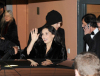 Demi Moore and Ashton Kutcher arrive at Borchardt restaurant on February 11th 2009 in Berlin Germany 4
