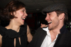 Jake Gyllenhaal and Maggie Gyllenhaal at the after party for the Off Broadway play Uncle Vanya at Pangea restaurant in New York City on February 12th 2009 4