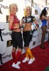 Karissa and Kristina Shannon attend the Game Day at Playboy Mansion on February 1st 2009 3