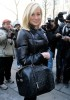 Kellie Pickler arrives at the Tracy Reese Fall 2009 fashion show during Mercedes Benz Fashion Week