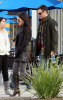 Megan Fox her fiance Brian Austin Green and his son Kassius Green at Daphnes Greek Cafe at the Empire Center in Burbank California on February 15th 2009 4