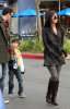 Megan Fox her fiance Brian Austin Green and his son Kassius Green at Daphnes Greek Cafe at the Empire Center in Burbank California on February 15th 2009 1