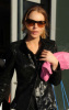 Lindsay Lohan visits Blue and Cream stores in New York City on February 14th 2009 before getting back to Bowery Hotel 3