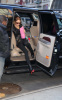 Lindsay Lohan visits Blue and Cream stores in New York City on February 14th 2009 before getting back to Bowery Hotel 1