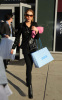 Lindsay Lohan visits Blue and Cream stores in New York City on February 14th 2009 before getting back to Bowery Hotel 4