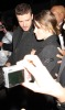 Justin Timberlake and Jessica Biel arrive at the Fashion Week tents at Bryant Park in New York City tonight after Justin William Rast show on the 16th of February 2009 3
