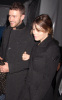 Justin Timberlake and Jessica Biel arrive at the William Rast Fall 2009 fashion show during Mercedes Benz Fashion Week in the Tent at Bryant Park