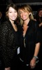 Jessica Biel and Marcella Lindeberg backstage at the William Rast Fall 2009 fashion show during Mercedes Benz Fashion Week in the Tent at Bryant Park on February 16th 2009 in New York City