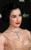 Dita Von Teese arrives at the Montblanc Signature For Good charity event in Hollywood California on February 20th 2009