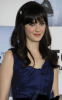 Zooey Deschanel attends the 2009 Film Independents Spirit Awards in Santa Monica on Saturday evening on February 21st 2009