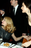 Patricia Clarkson with director Darren Aronofsky and actress Rachel Weisz at the 2009 Vanity Fair Oscar party hosted by Graydon Carter at the Sunset Tower Hotel on February 22nd 2009 in West Hollywood California