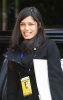 Freida Pinto spotted out of her Los Angeles hotel on February 20th 2009 2