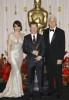 Tina Fey with Andrew Stanton and Steve Martin at 81st Annual Academy Awards on February 22nd 2009