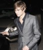 Chace Crawford leaves the Women in Films 2nd Annual pre Oscar Cocktail Party held at a private residence in Bel Air in Los Angeles on February 20th 2009