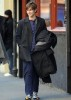 Chace Crawford on the filming set of Gossip Girl in the East Village of New York City on February 23rd 2009