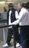 Ludacris spotted checking in for his flight at LAX airport in Los Angeles California on February 23rd 2009 3