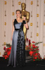 Kate Winslet with her award at the 81st Annual Academy Awards held at The Kodak Theatre on February 22nd 2009 in Hollywood California