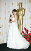 Penelope Cruz and her winner award as Best Supporting Actress at the 81st Annual Academy Awards held at The Kodak Theatre on February 22nd 2009 in Hollywood California