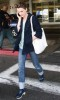 Keri Russell spotted arriving at LAX airport to catch her flight in Los Angeles California on February 23rd 2009 2