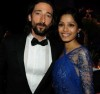 Freida Pinto and Adrian Brody at the 81st Annual Academy Awards held at Kodak Theatre on February 22th 2009 in Los Angeles
