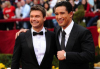 Ryan Seacrest and Mario Lopez arrive at the 81st Annual Academy Awards held at Kodak Theatre on February 22th 2009 in Los Angeles