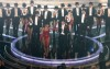 Beyonce Knowels and Hugh Jackman performance on stage at the 81st Academy Awards