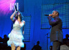 jojo and singer Lloyd perform a tribute to the Jacksons at the 8th Annual BMI Urban Awards on September 4th 2008 in Los Angeles California 1