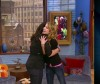 Rachael Ray and Emma Roberts on the Rachael Ray Show on the 15th of June 2007