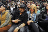 Christina Milian with the dream at the Atlanta Hawks vs Clevelend Cavilers basketball game on Sunday night