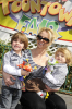 Britney Spears with her kids Sean Preston and Jayden at Disney World in Florida on March 5th 2009