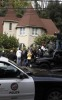 police at Lindsay Lohan house in  Hollywood Hills on Saturday afternoon March 14th 2009