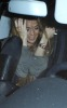 Lindsay leaving Jack Nicholson's house early this morning on March 14h 2009