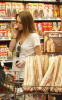 Lindsay Lohan out and about in LA yesterday March 13th 2009 shopping at Gelsons Market in Hollywood