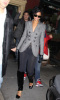 Rihanna arrives to The Spotted Pig restaurant in the west village manhattan on March 13th 2009