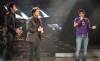 Yahia Sweis and Ibrahim Dashti with Melhem Zain at Star Academy Third Prime