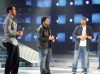 Nazem and Abdel Aziz with melhem zein at Star Academy Third Prime