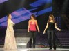 Yara with Aya and Inass from Tunis at Star Academy Third Prime