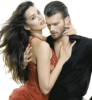 Kivanc Tatlitug and his fiance Azra Akin