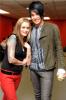 Adam Lambert picture with Megan Corkrey