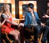 Adam Lambert and Megan Corkrey
