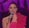 Hilda Khalifeh Pink Dress at the fifth prime