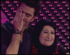 Mothers at the fifth prime of Star Academy season6 Mohammed Serag with his mother Mrs  Anhar