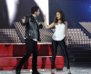 Lara Scandar and Bash at Star Academy Fifth Prime pictures and photogallery
