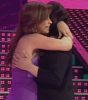 Tania and her Mom Madam Nemer on fifth prime of star academy season6 on March 20th 2009
