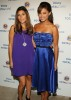 Jamie Lynn Sigler with Vanessa Minnillo at the launch of of the new Tide and Downy Total Care at the pool deck of NYCs Empire Hotel on the 25th of August 2008