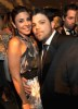 Jamie Lynn Sigler and Jerry Ferrara attend the Official HBO After Party for the 66th Annual Golden Globe Awards at Circa 55 Restaurant at The Beverly Hilton Hotel on January 11th 2009 in Beverly Hills California
